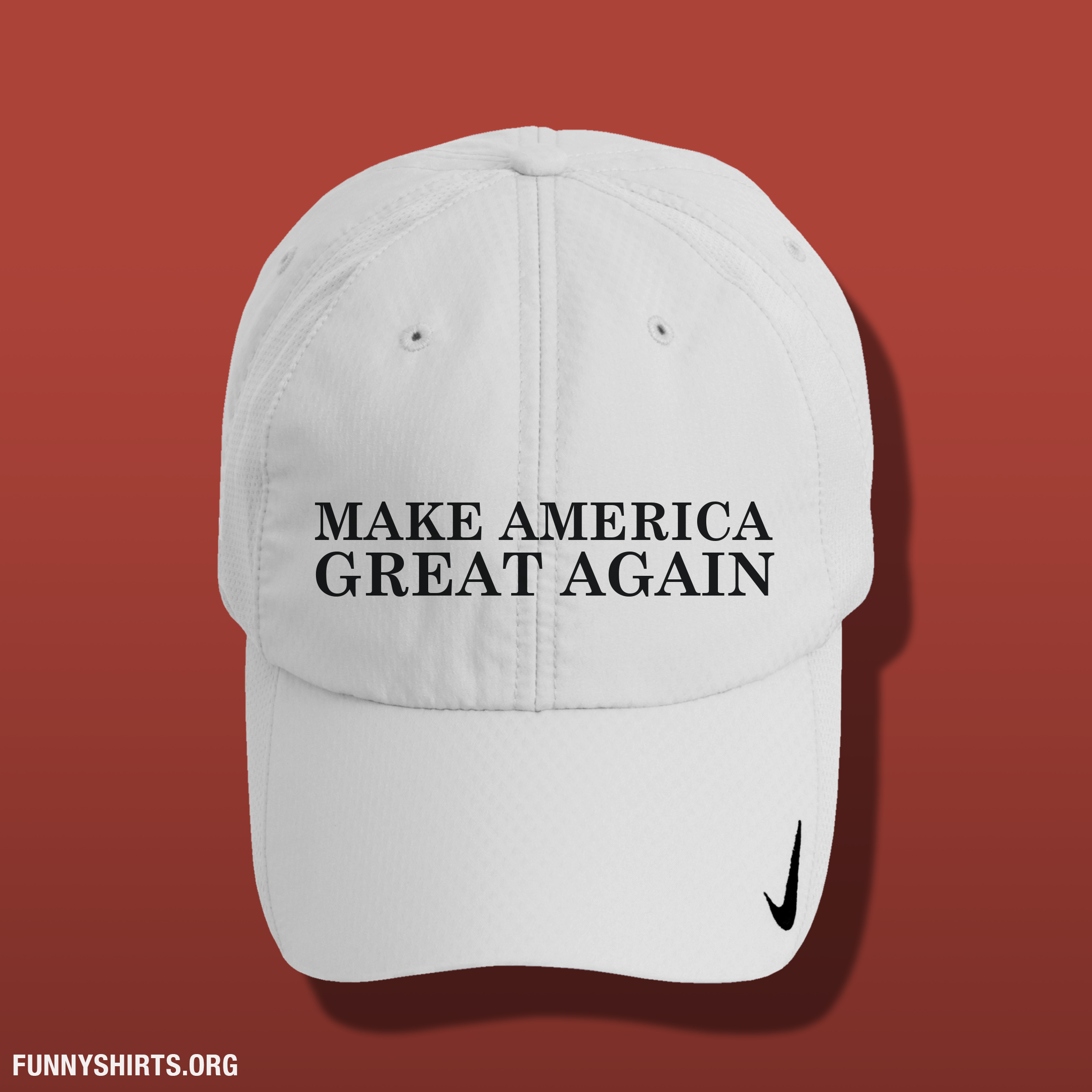 Let s make America great again! Stop wasting time! Show your support for  Donald Trump with a cool and funny Nike baseball hat. If you love how blunt  he is ... 5948f7a1206