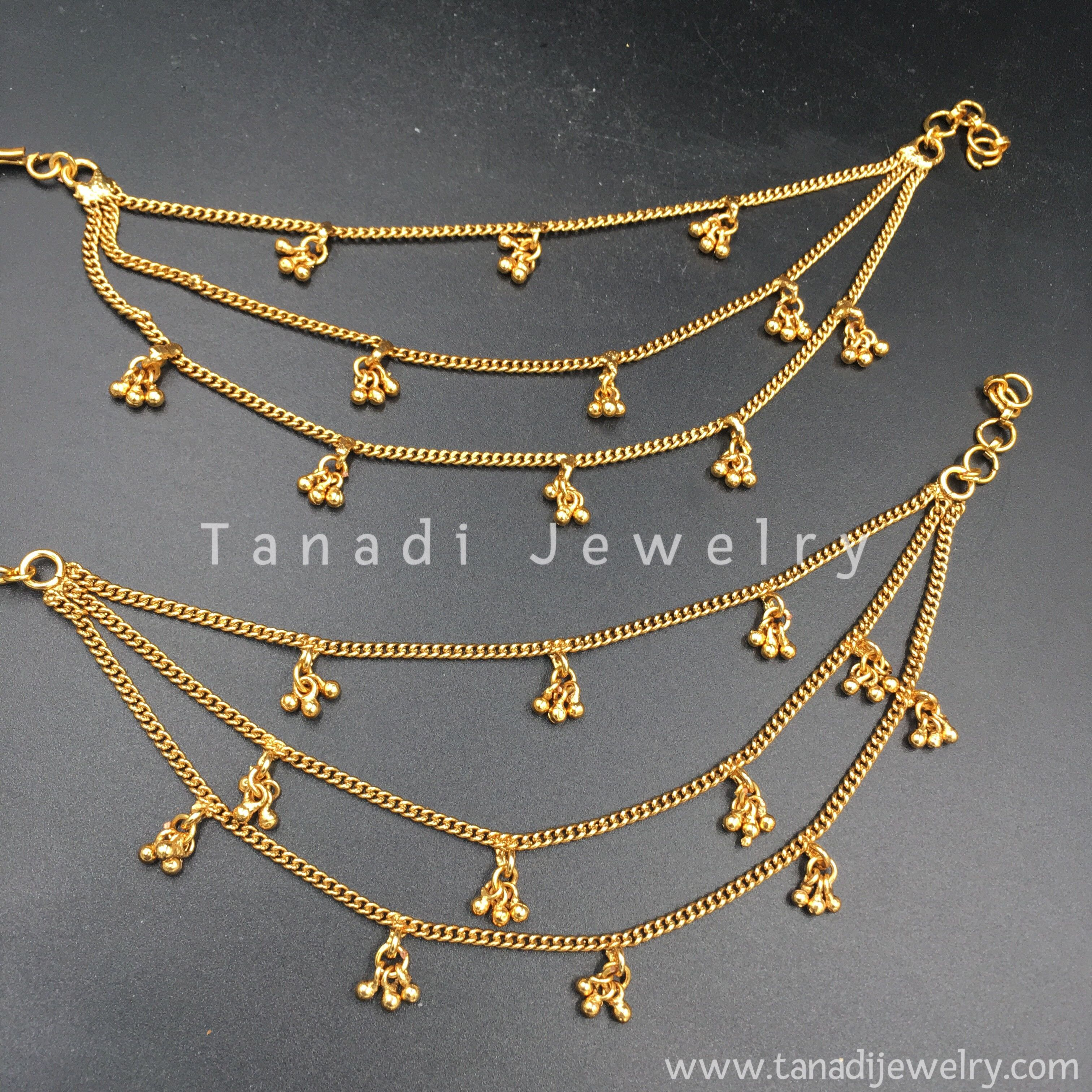 c6c9d7a7c Golden Earchain with golden Clusters - Three Layers in 2019   Desi ...