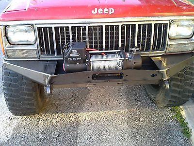 Front Winch Steel Custom Bumper Jeep Cherokee Xj Comanche Mj Jeep Cherokee Jeep Cherokee Xj Jeep