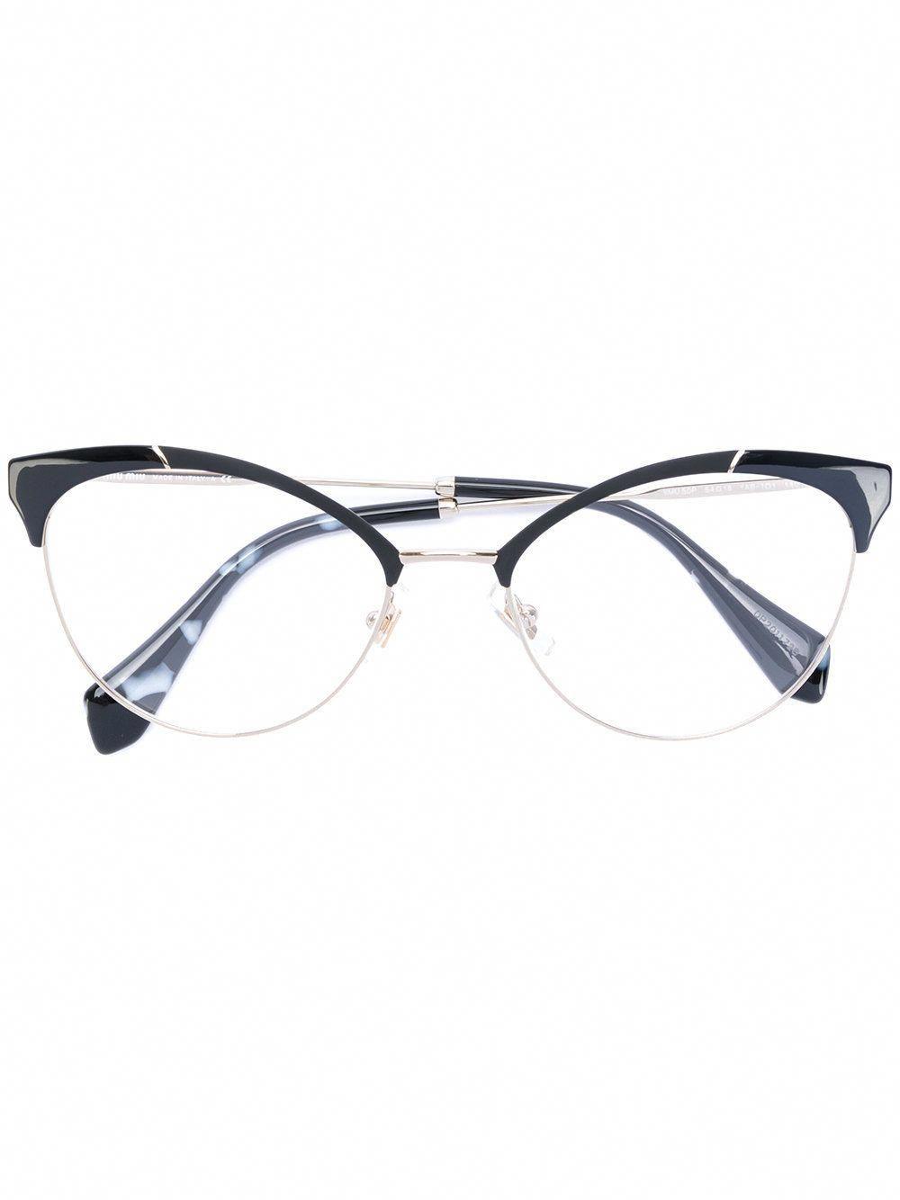 830dd99a96 Miu Miu Eyewear classic cat eye glasses  MiuMiu