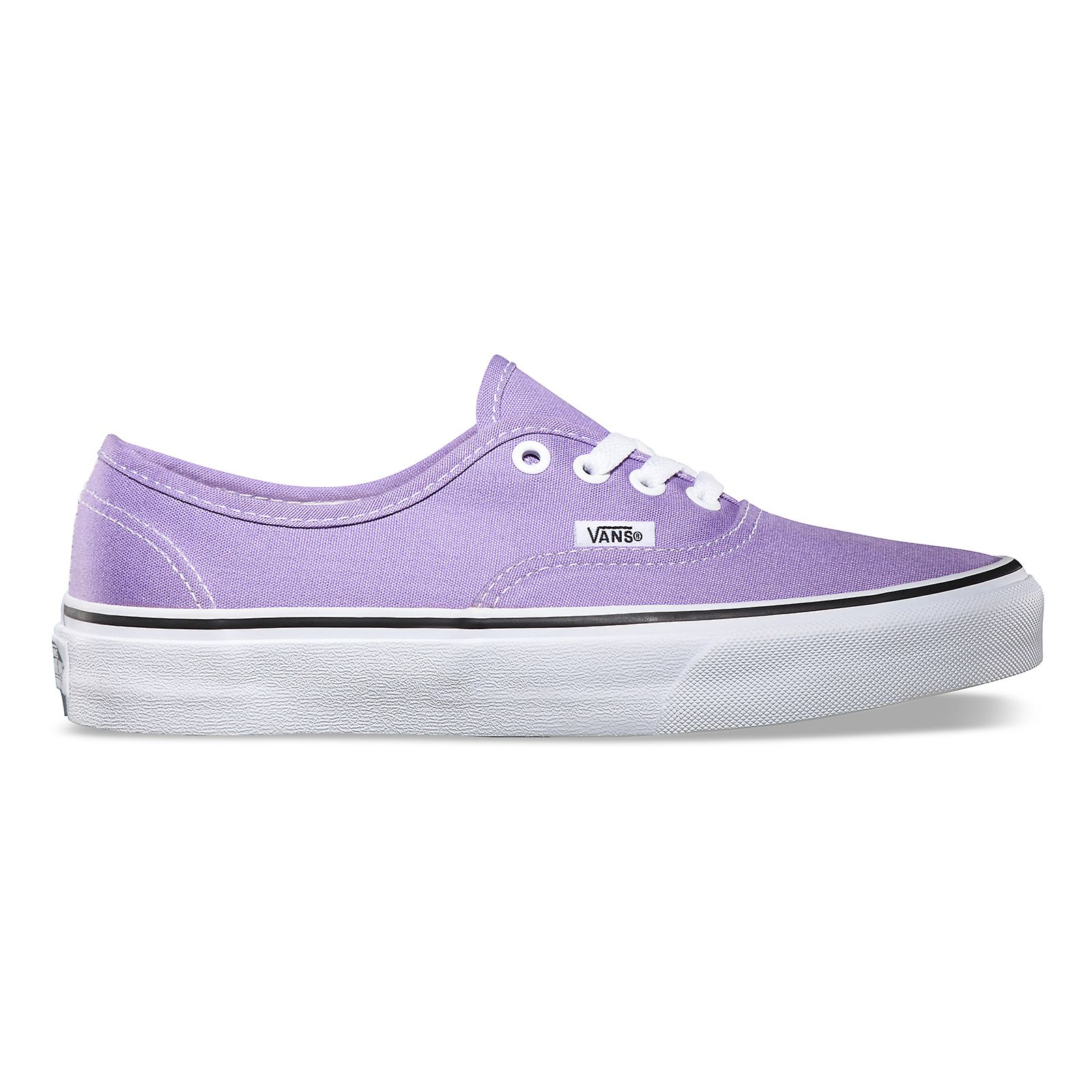 Vans Canvas Authentic in Bougainvillea/True White ... better known as light  purple