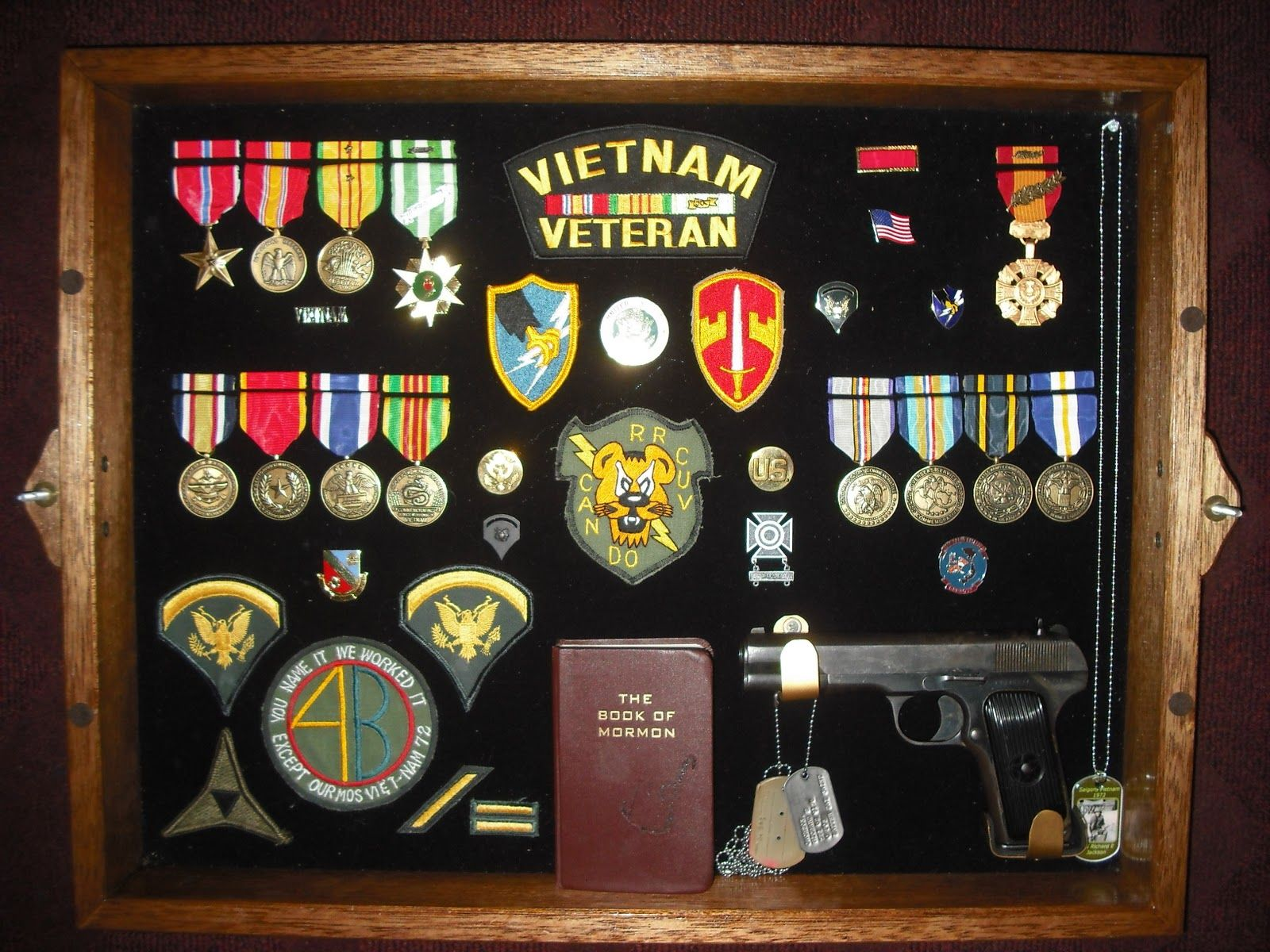 Military Shadow Box From