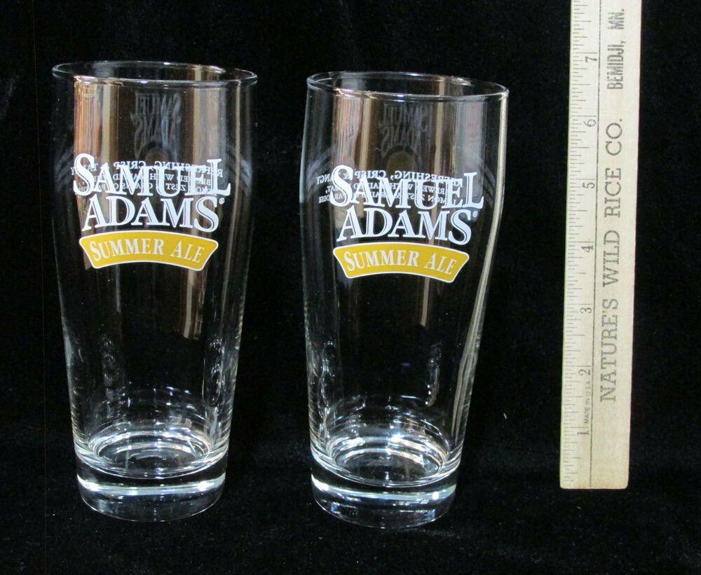 Samuel Adams Summer Ale 16 Oz Glass