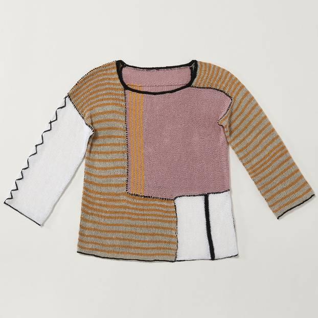 Photo of Stricken Patchwork Sweater – Handarbeiten – # Kapuzenschal # Stricken # Kapuze ….