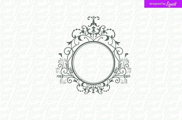 Luxury  Royal Wedding Logo By Linvit On  Graphicsauthor