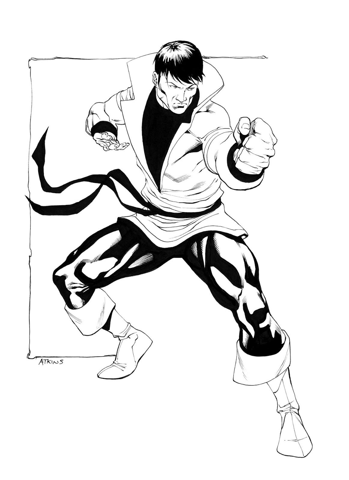 robert atkins art karate kid losh