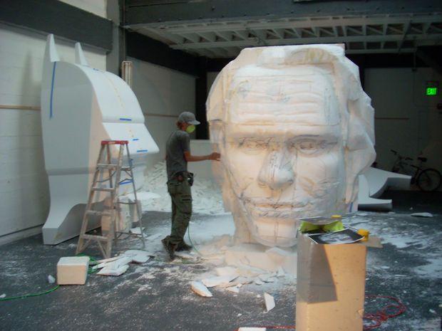 Styrofoam Sculptures Foam Styrofoam Art Sculpture