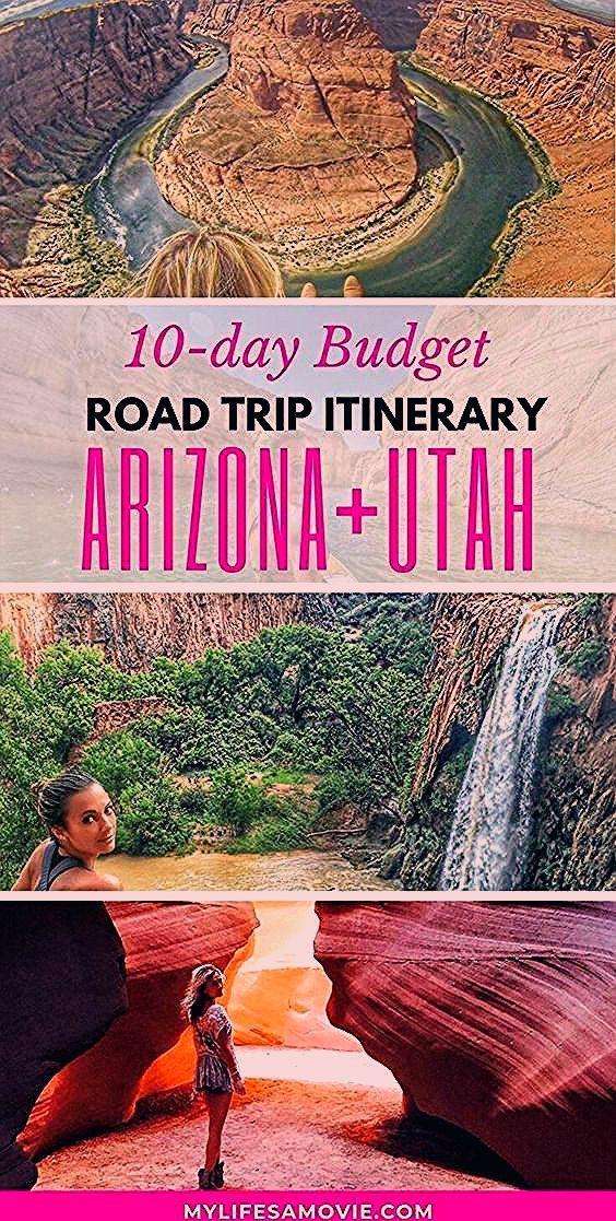 Photo of Arizona Utah road trip itinerary