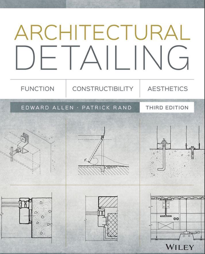 Acetxt Architecture Books Construction Details Architecture Architectural Engineering