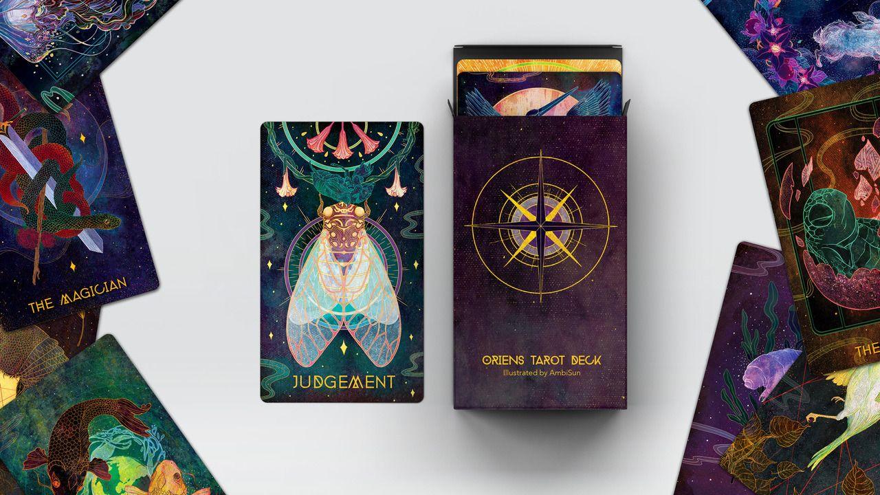 The Oriens Tarot Deck is an animal themed card deck that ...