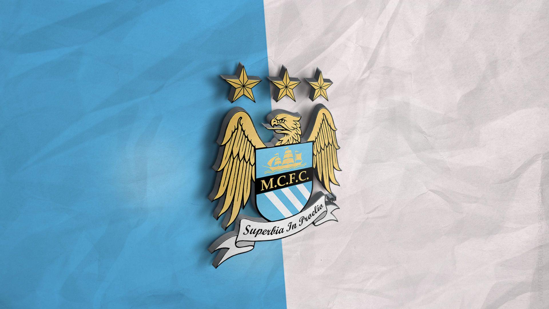 Manchester City 3d Logo Wallpaper Manchester City Wallpaper Football Wallpaper City Wallpaper