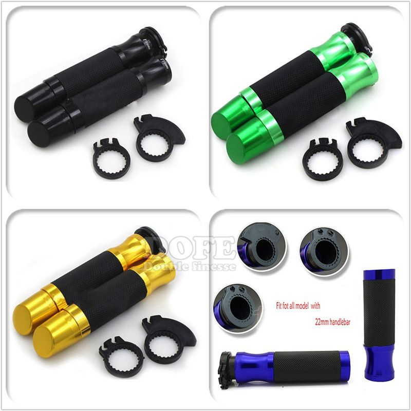Motorcycle Handlebar Hand Grips Handle Bar End Cap For Honda CB600F 2007-2013
