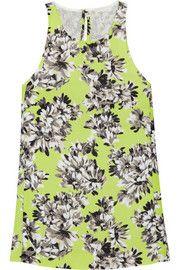 J.CrewCollection floral-print piqué top