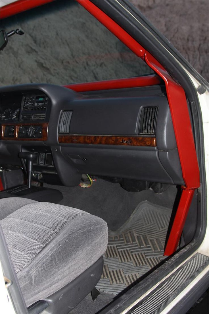 Interior cage idea jeep mod ideas jipe ideias - Jeep grand cherokee interior parts ...