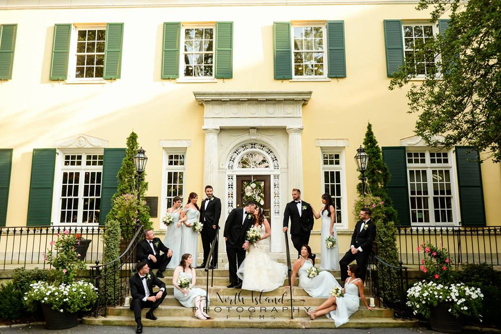 Mansion at Oyster Bay Wedding Venue in New York Bay