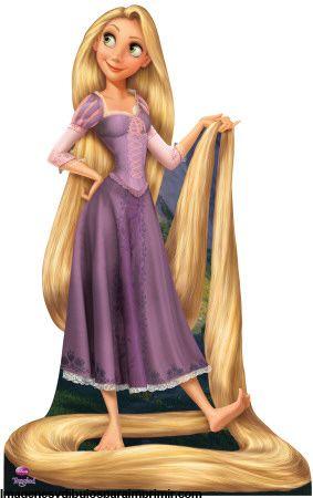 Dibujos De Rapunzel Para Imprimir Rapunzel La Princesa Disney Y Su Nueva Imagen Para Imprimir En Tangled Rapunzel Disney Tangled Life Size Cardboard Cutouts