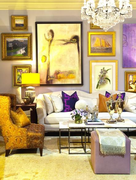 Interesting Artwork   Plush, Interiors and Living rooms