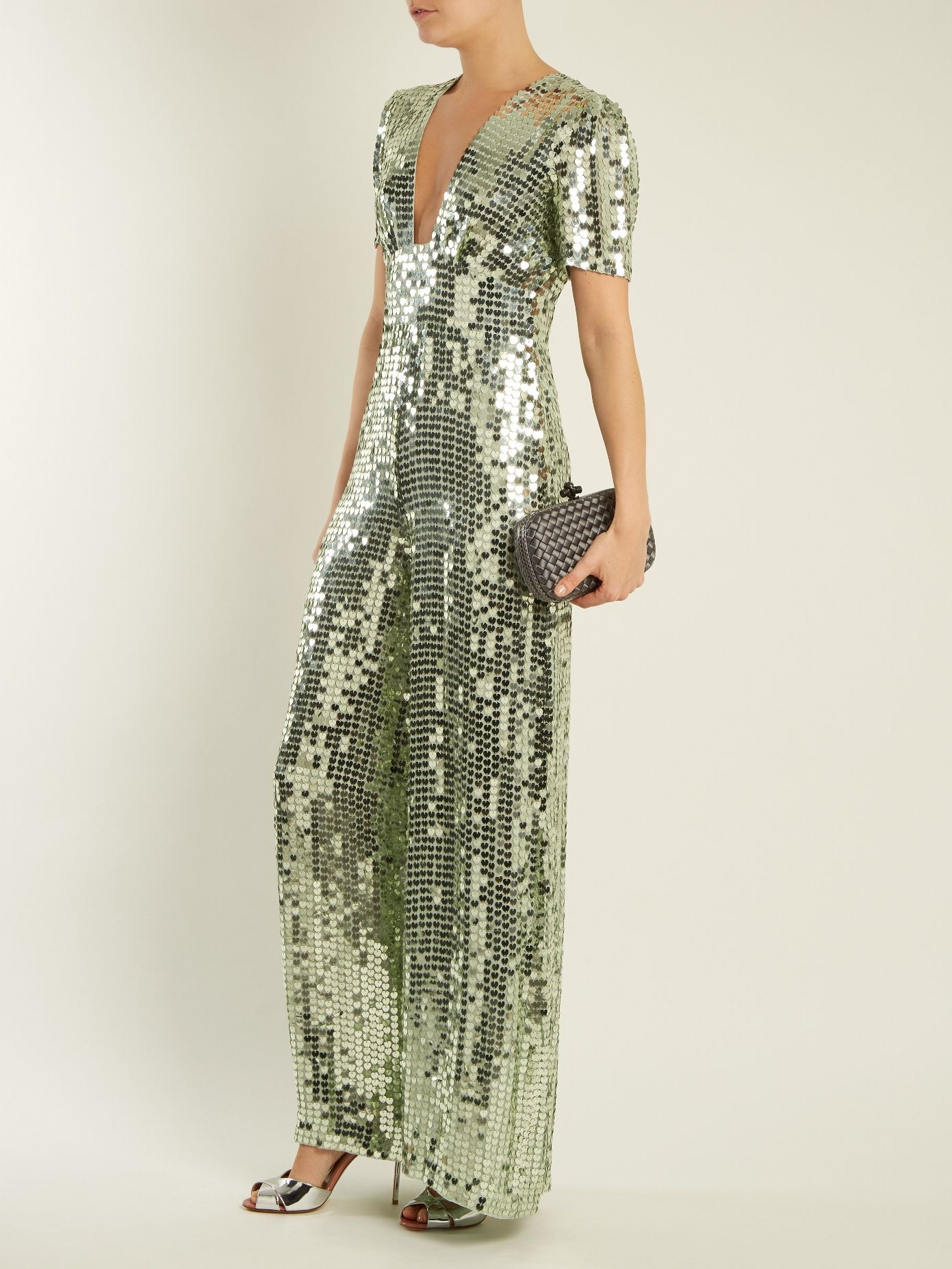 Temperley London Wide-leg sequin-embellished jumpsuit  adabbbe654
