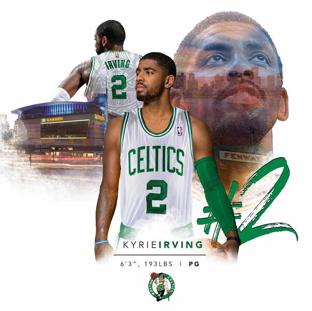 53c1ca536d9 Kyrie Irving in Boston Celtics edit | Basketball | Kyrie irving ...