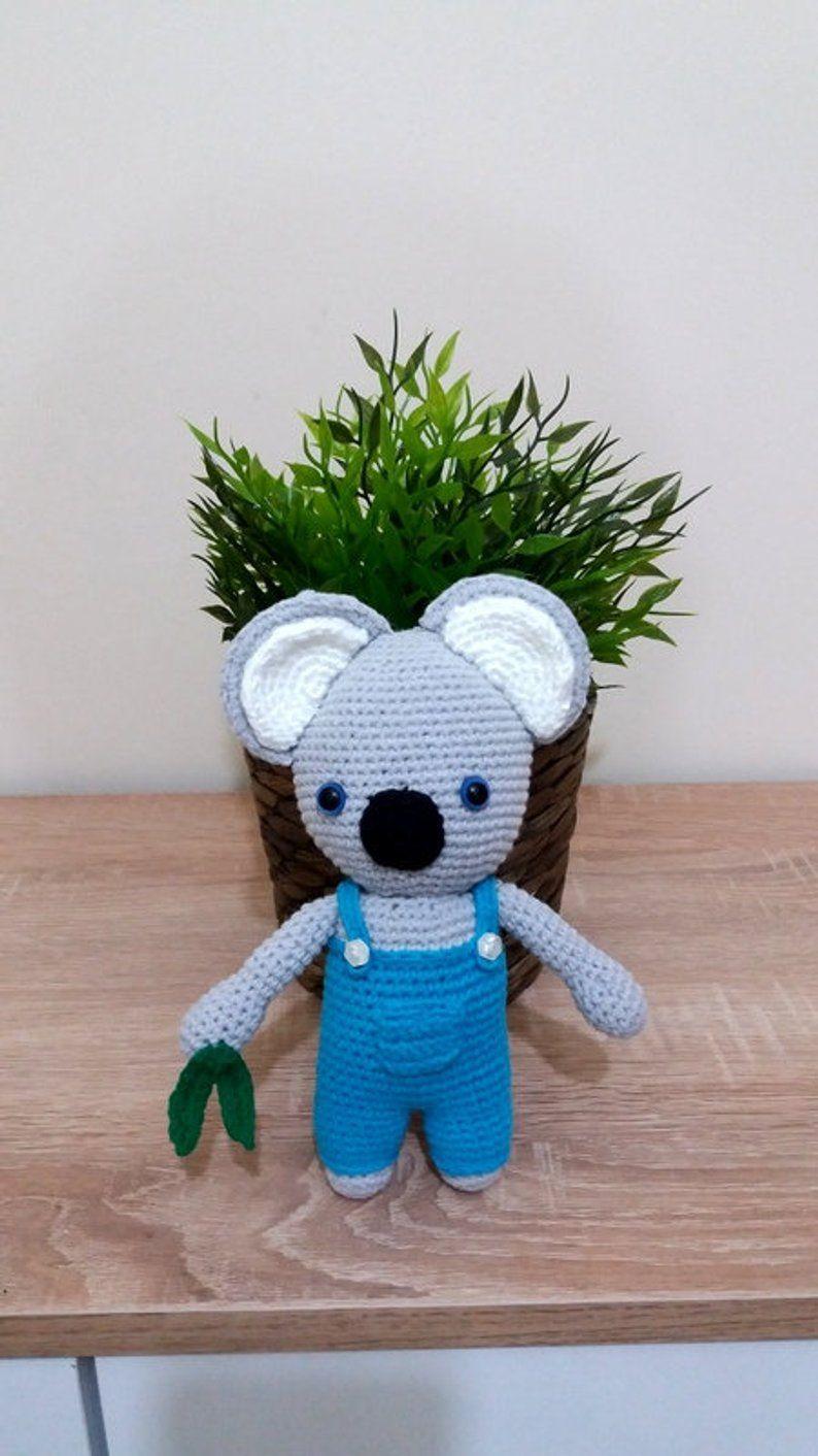 Amigurumi koala cute koala stuffed toys koala crochet