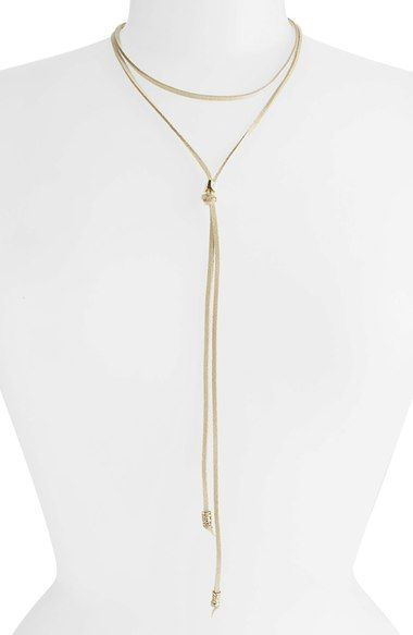 BP. Suede Choker Bolo Necklace available at #Nordstrom