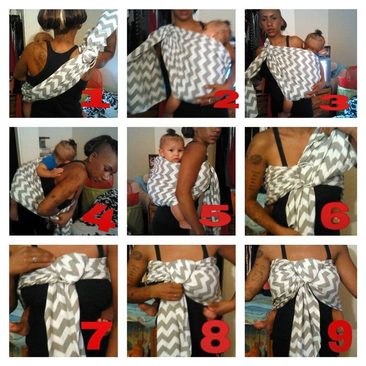 8 Awesome Ring Sling Back Carry Instructions Images Wear That Baby