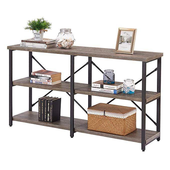 Amazon Com Bon Augure Rustic Console Sofa Table Industrial