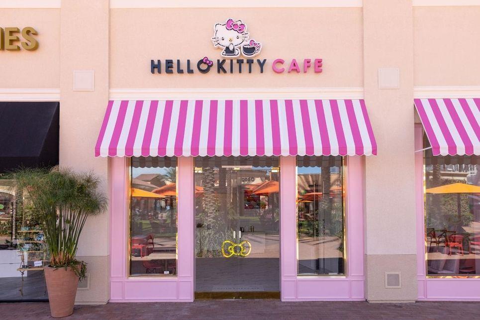 hello kitty café californie