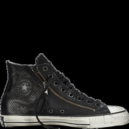 51e3cf24f7d350 Converse By John Varvatos Leather Double Zip black