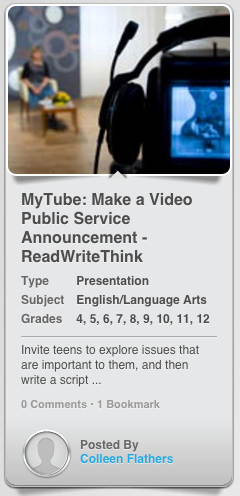MyTube: Changing the World With Video Public Service Announcements