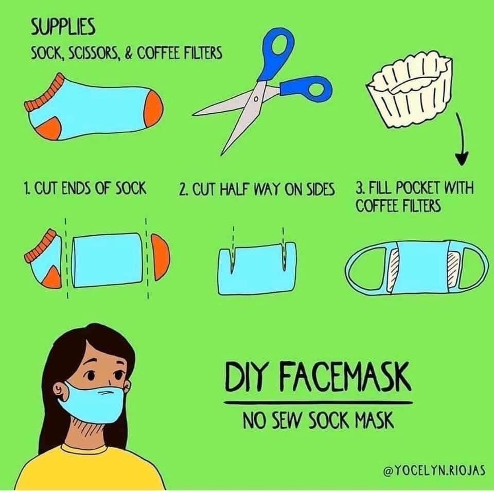 Saucy Wench On Twitter In 2020 Easy Face Mask Diy Diy Face Mask Face Mask Tutorial