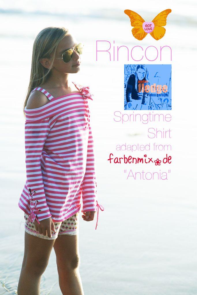 capable of flying: Rincon Springtime Shirt (English & Deutsch ...