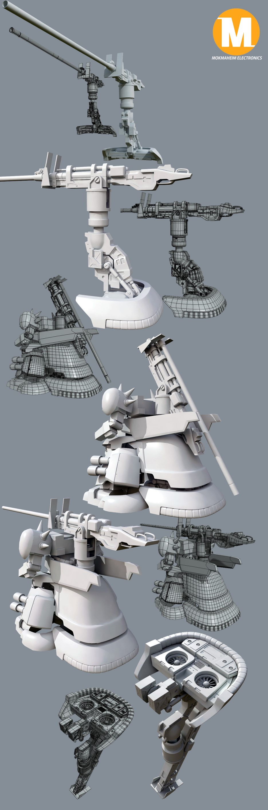 YMS-16M XAMEL(쟈멜) #2 680mm 캐논 : 네이버 블로그 | Zeon Loyalist ...