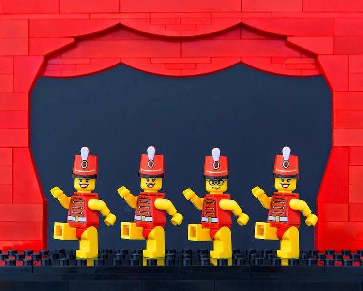 The Brick Fantastic I:Jeff Friesen reinterpreta las ciudades estadounidenses... ¡En versión LEGO!