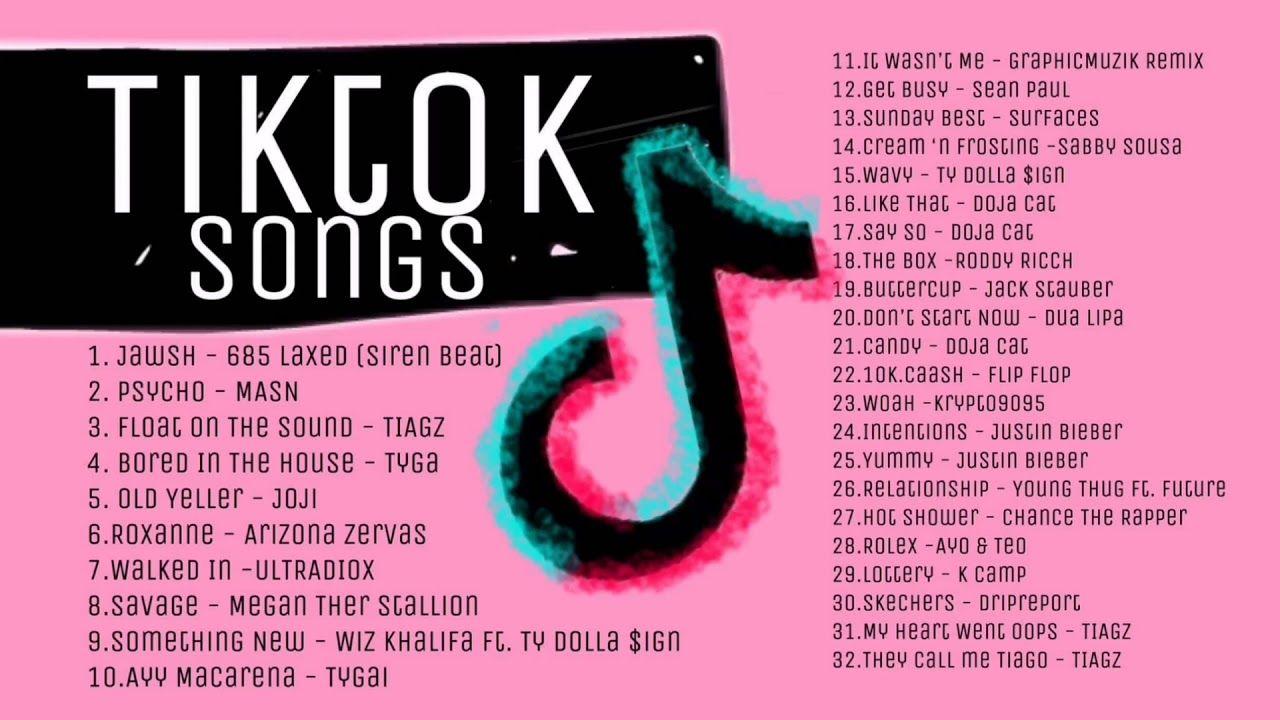 Trending Tiktok Songs Non Stop Dance Hits 2020 Youtube Songs Trending Songs Mood Songs