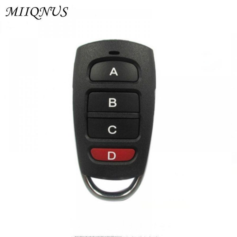 433mhz 4 Buttons Remote Control Cloning Duplicator Key Fob For Garage Door ريموت كراج ناسخ شيكل 17 شحن مجاني لأقرب مر Garage Doors Control Key Remote Control