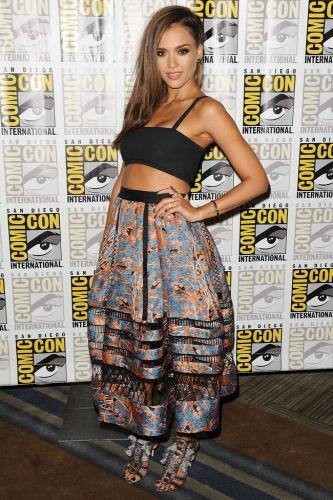 Comic Con fashion trend: Crop tops #croptopdress