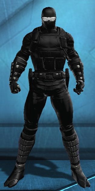 My Dcuo Dc Universe Online Creation Snake Eyes Dc Universe Online Dc Universe Superhero