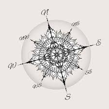 Resultat De Recherche D Images Pour Rose Des Vents Design Tattoo