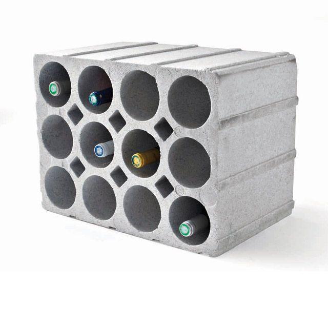 Casier 12 Bouteilles En Polystyrene Coloris Gris Polystyrene Casier Bouteille