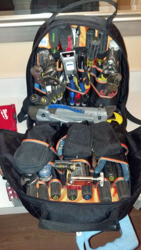 Klein tool backpack - Page 2 - Electrician Talk - Professional ... on