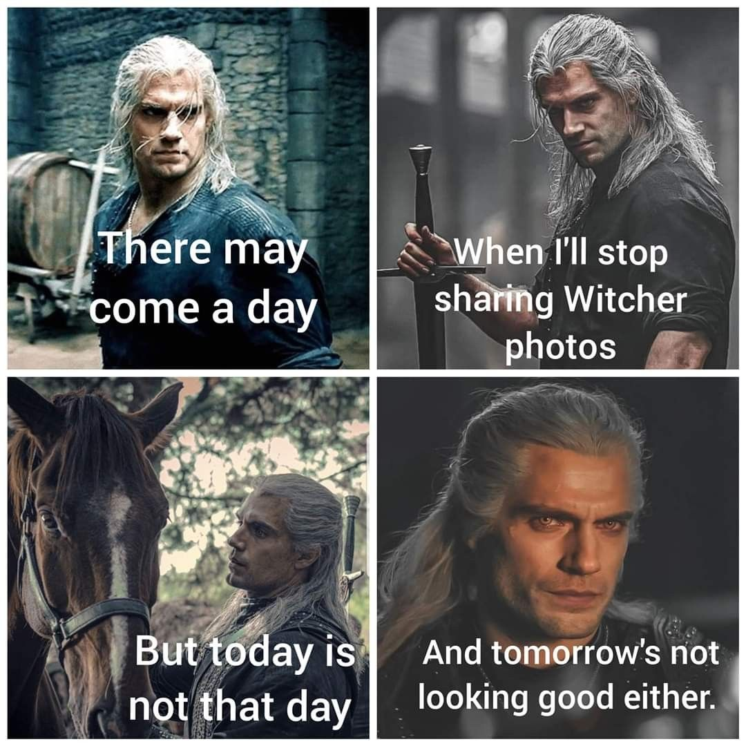 50 The Witcher Memes Funniest Witcher Memes Geralt Of Rivia