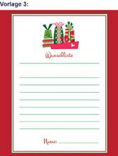 Weihnachtskarten Aldi Süd.Aldi Süd Wunschzettel Vorlagen Weihnachten Printable