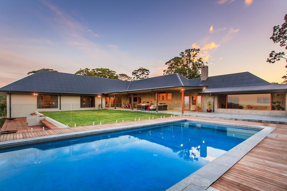 Modern rural homes designs australia house of the day for Pool design ideas australia