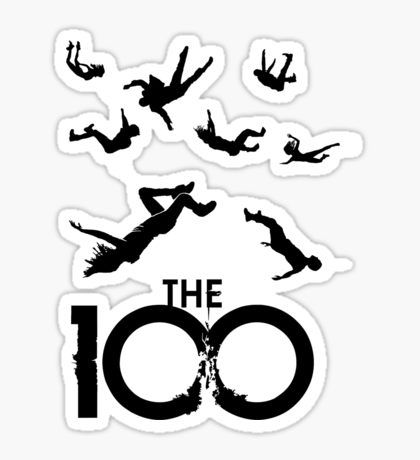 the 100 shadows  Sticker