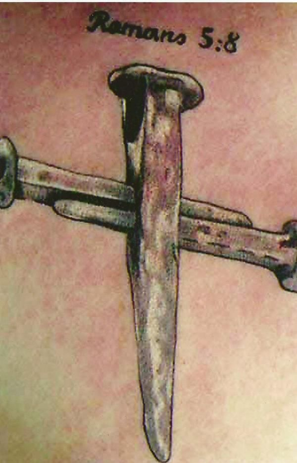 Two Nails Crossed Tattoo Meaning: Google Image Result For Http://a3.ec-images.myspacecdn.com