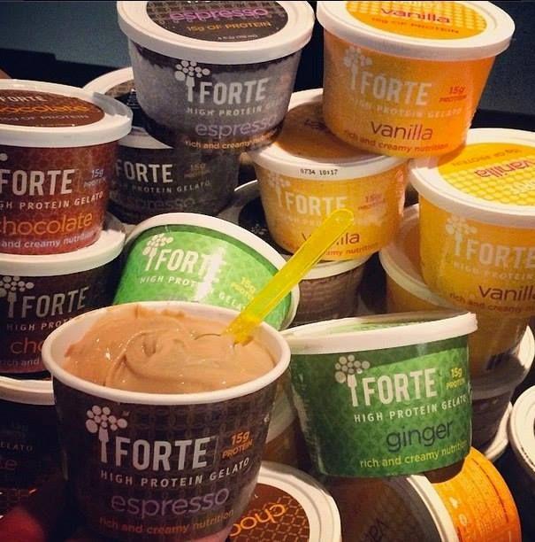 healthy high protein gelato