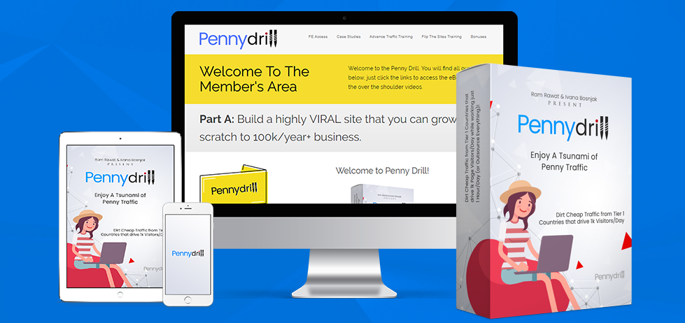 Penny Drill get you FREE or PENNY Traffic My online