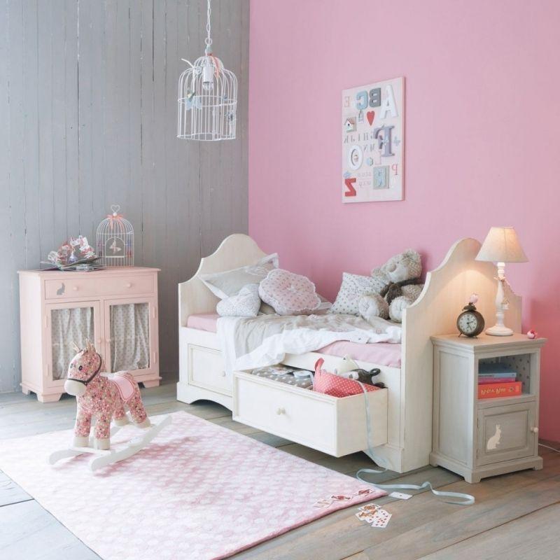Chambre Gris Et Rose Pale : Chambre Romantique Rose Poudr  Room Tour Du  Poudrà Pour