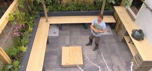 Eigen huis en tuin bank tuin garden tuin tuin for Bouwtekening veranda eigen huis en tuin